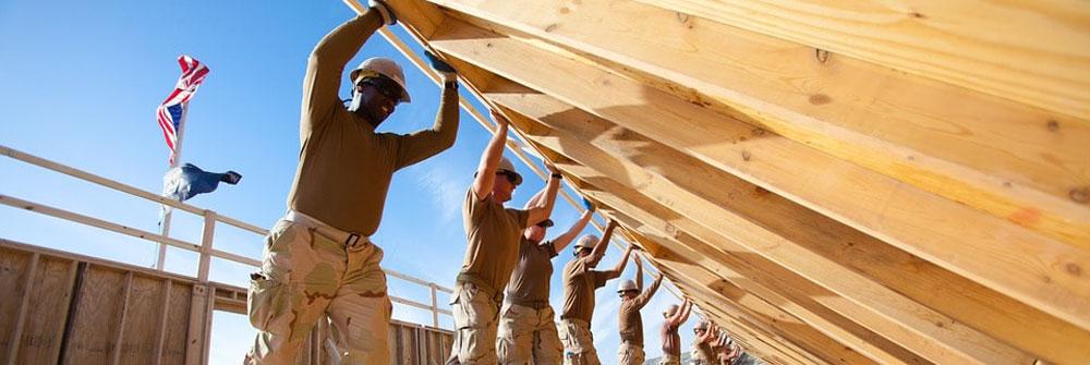 Veterans home build